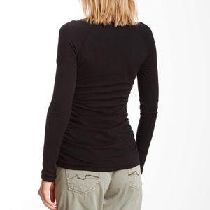James Perse Tops - James Perse ruched tee
